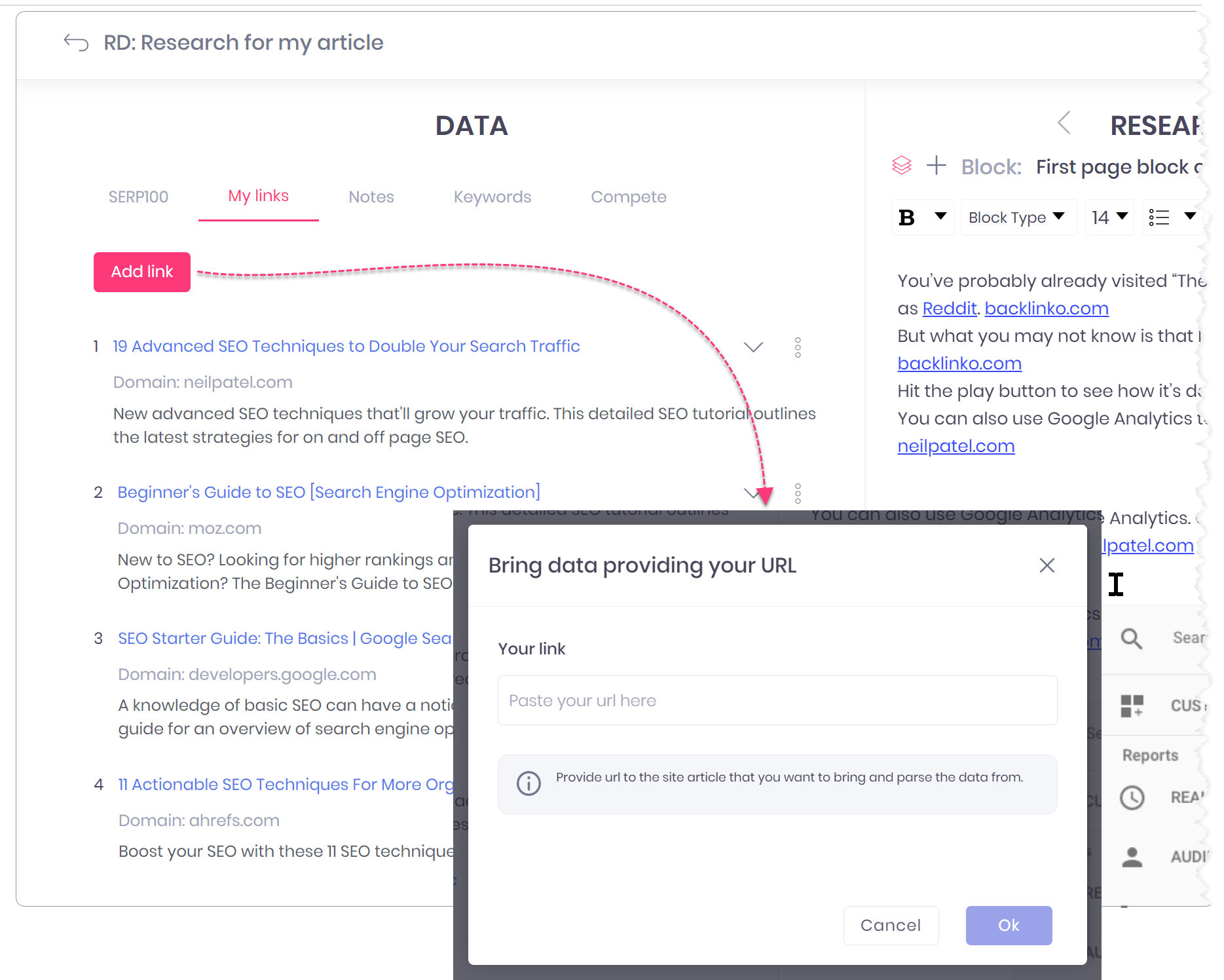 content research blog seo optimization