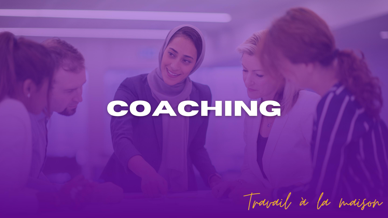 Coaching / Consulting personnalisé : le travail à domicile des spécialiste