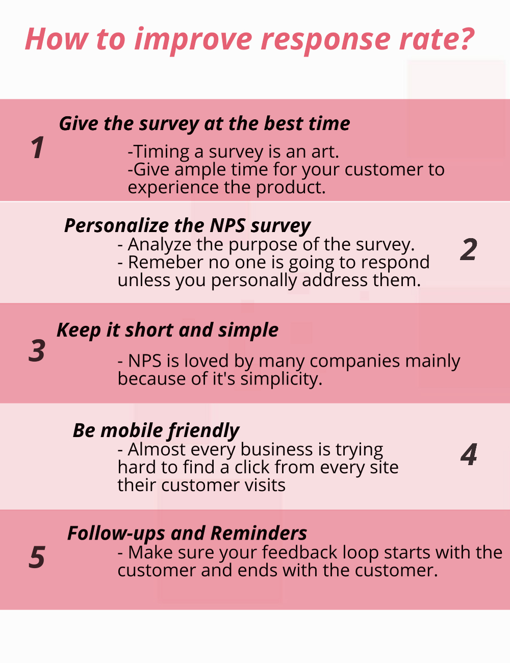 how to improve survey response rate