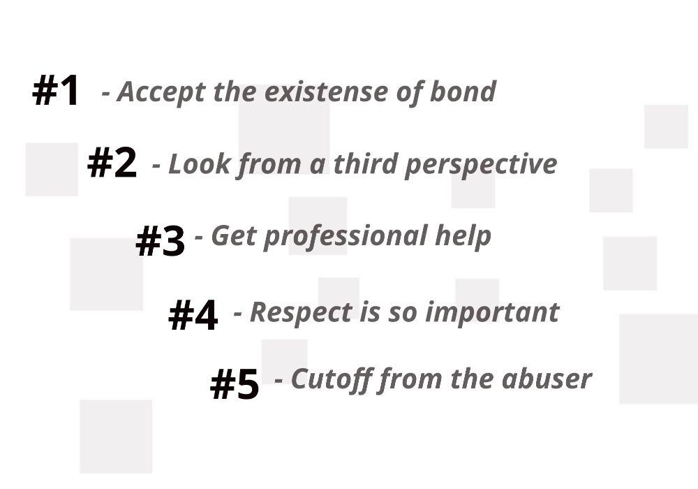 ways to overcome trauma bonding
