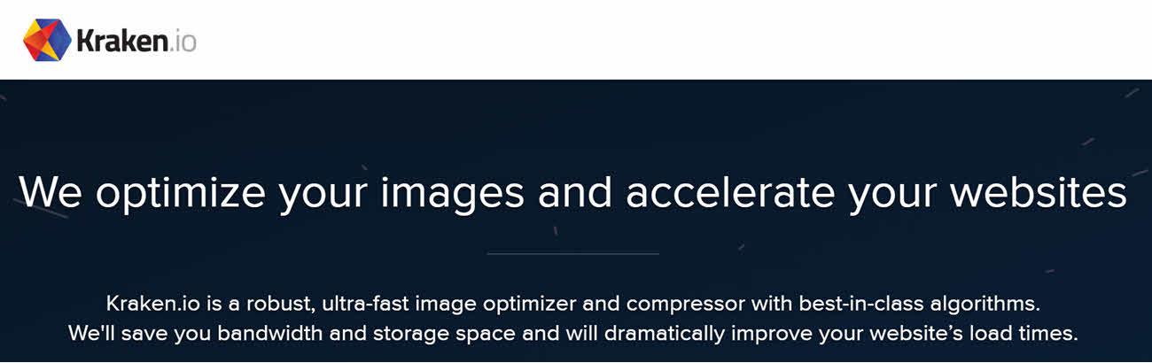 compress png image Kraken