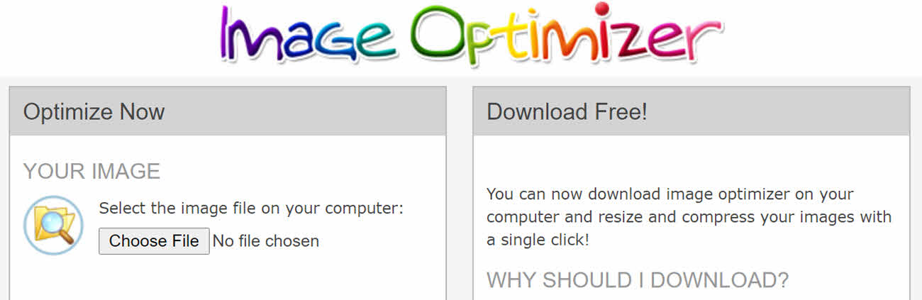 compress png image - image optimization tool