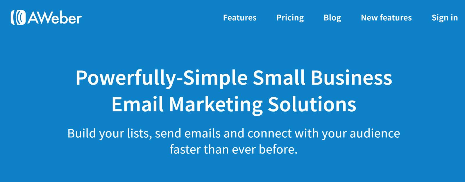 Best CRM Email Marketing Automation Platform - Aweber