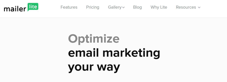 Best CRM Email Marketing Automation Platform - Mailerlite