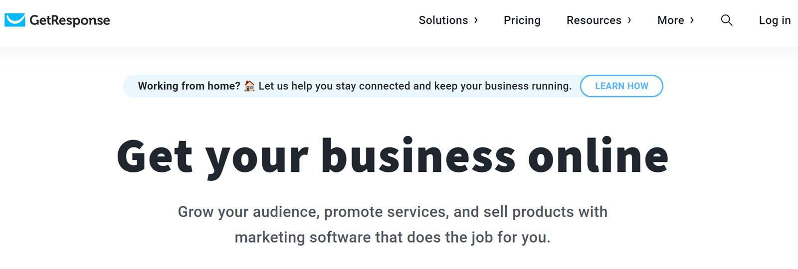 Best CRM Email Marketing Automation Platform Getresponse
