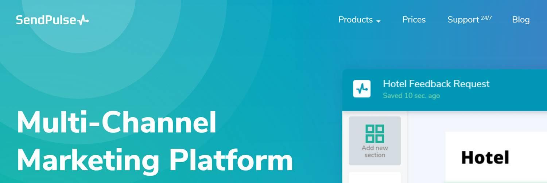 Best CRM Email Marketing Automation Platform - Sendpulse