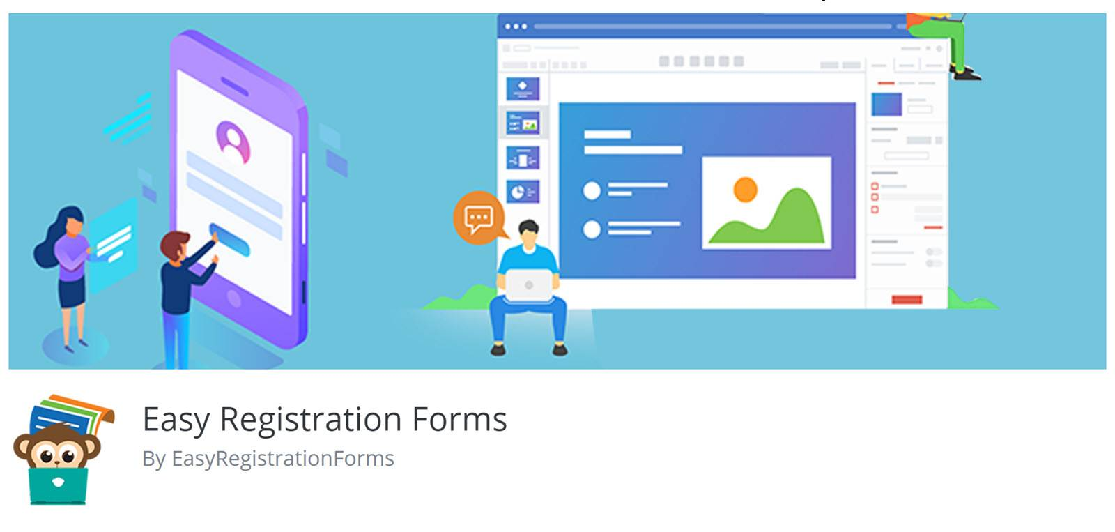 WordPress plugins for Forms - Easy Registration