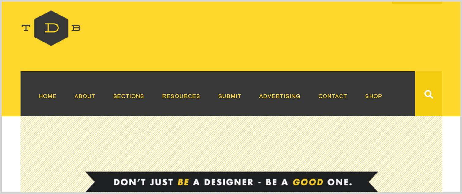 The design blog Graphic Design Blogs