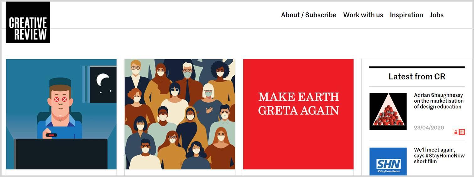 Creative review Graphic Design Blogs