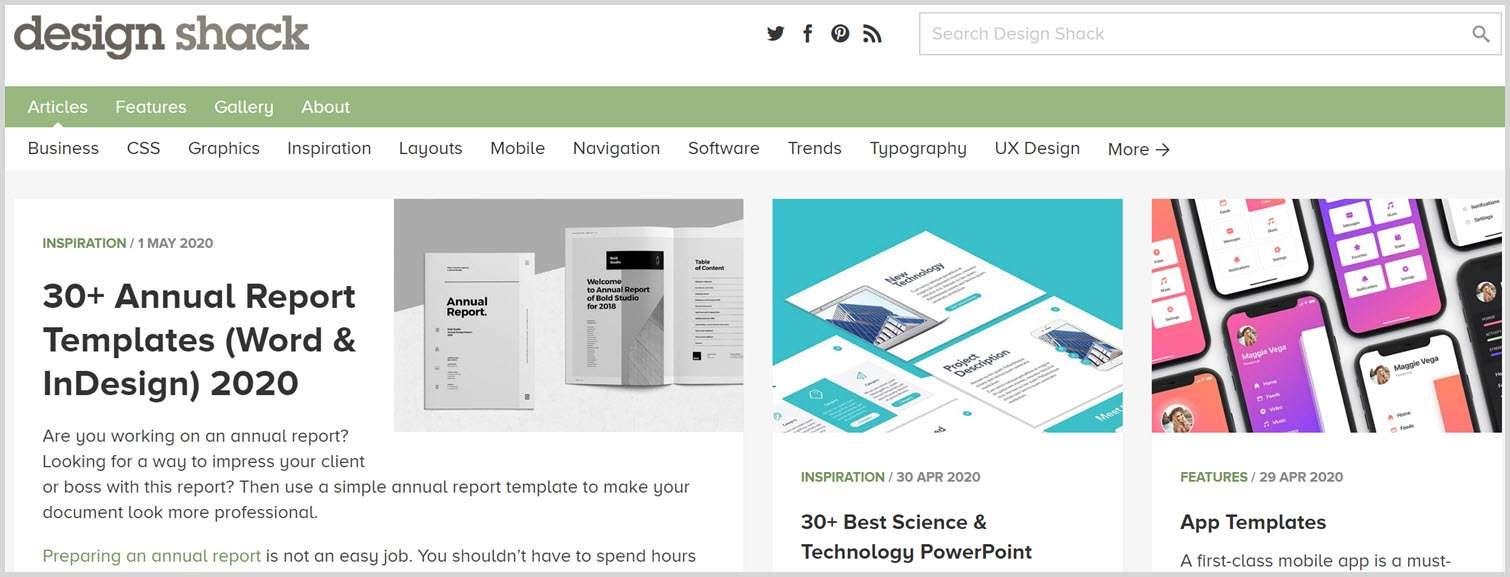 Design shack Graphic Design Blogs