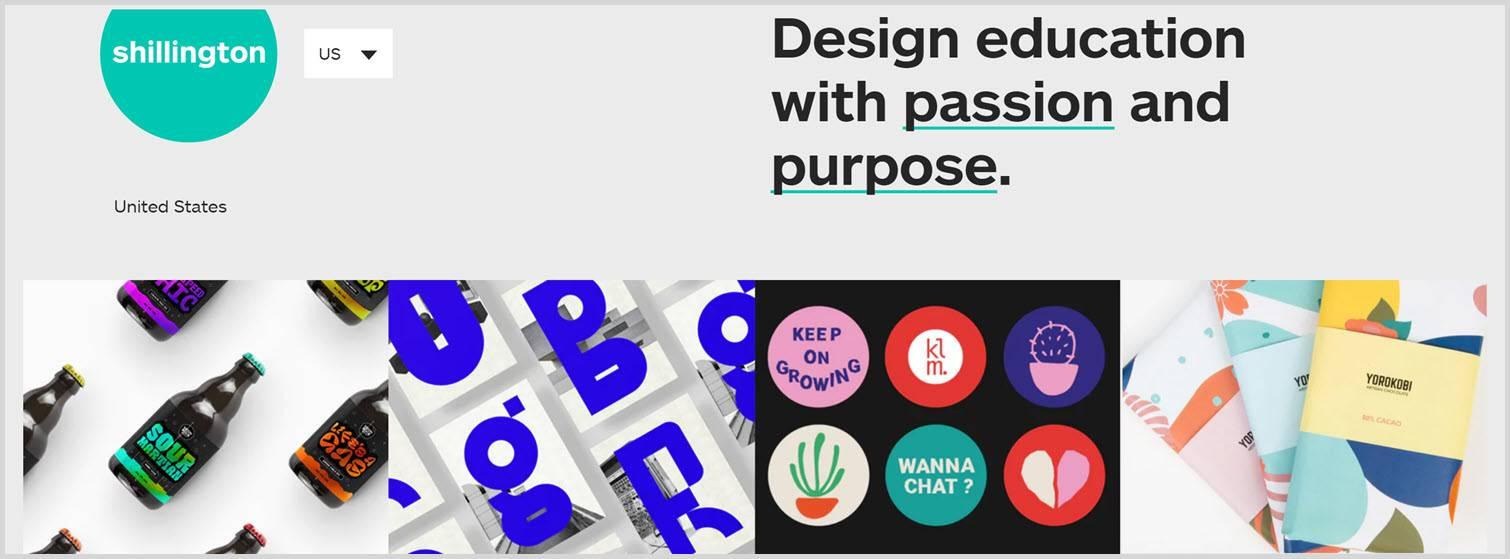 Shillington Education blog Graphic Design Blogs