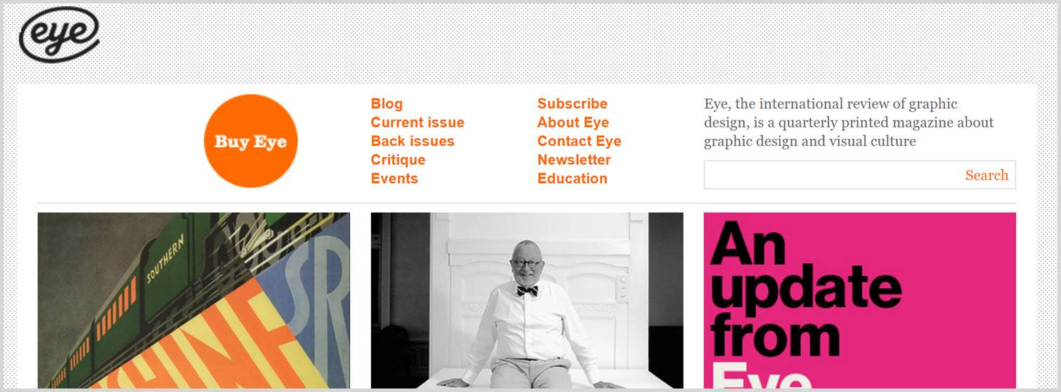 Eye magazine Graphic Design Blogs