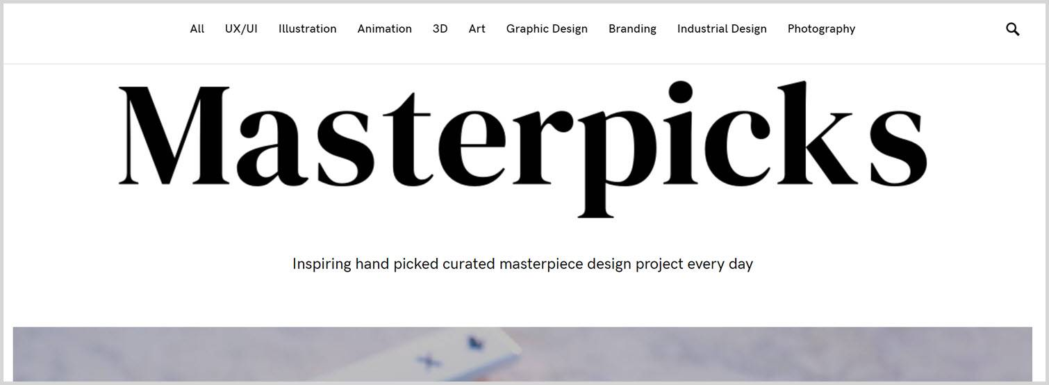 Masterpicks Graphic Design Blogs