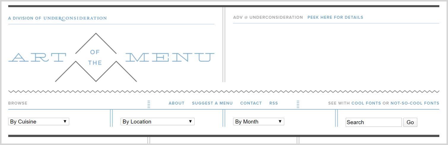 Artofmenu Graphic Design Blogs