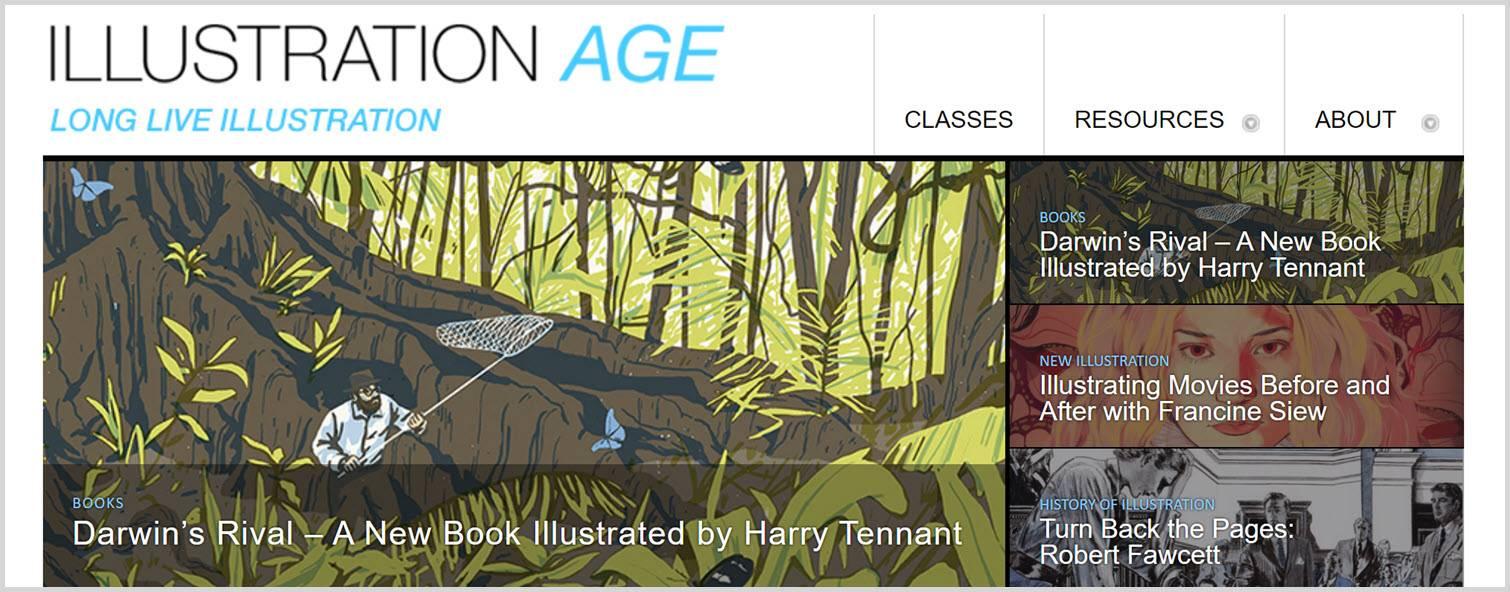 Illustration age - Graphic Design Blogs