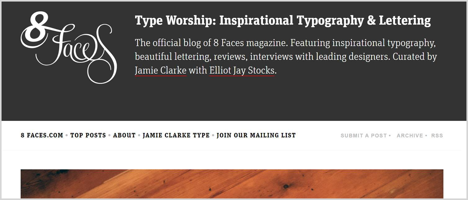 Type worship Graphic Design Blogs