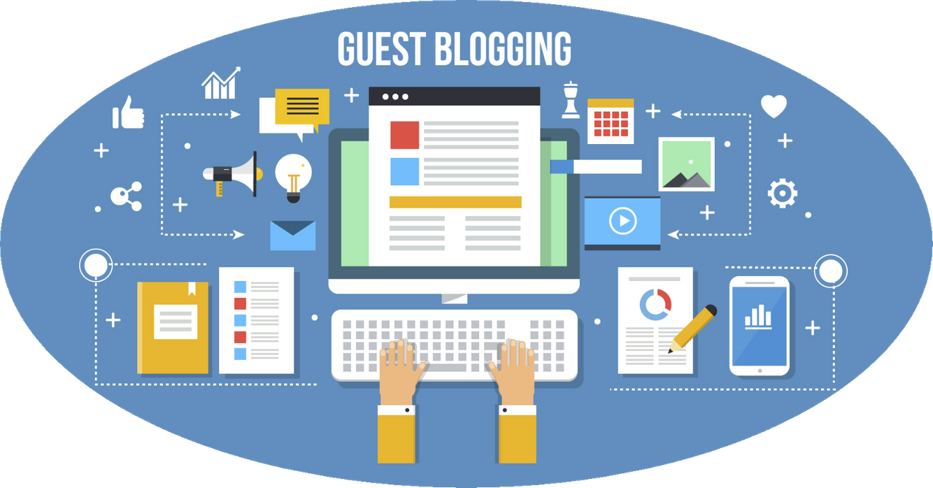 Best Online Content Writing Jobs From Home - guest blogging