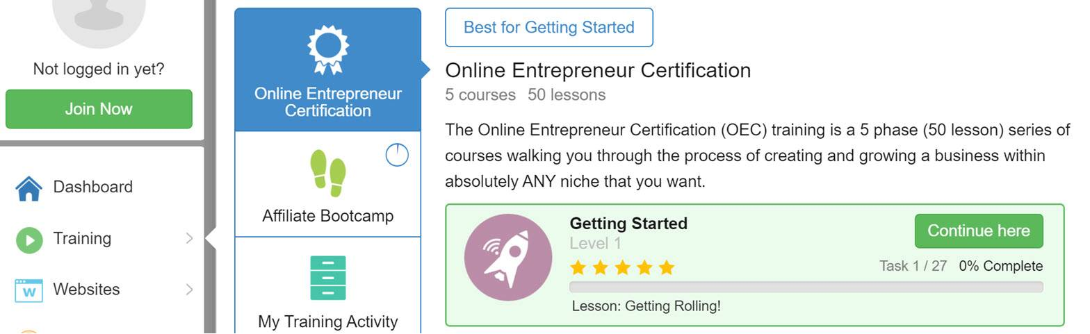 Best Online Learning Platforms and Blogging Courses wealthy affiliate
