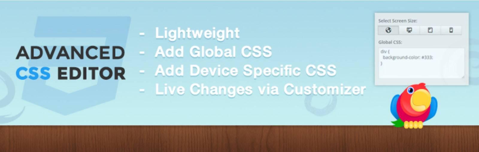 Advanced CSS - Best WordPress Plugins for Developers