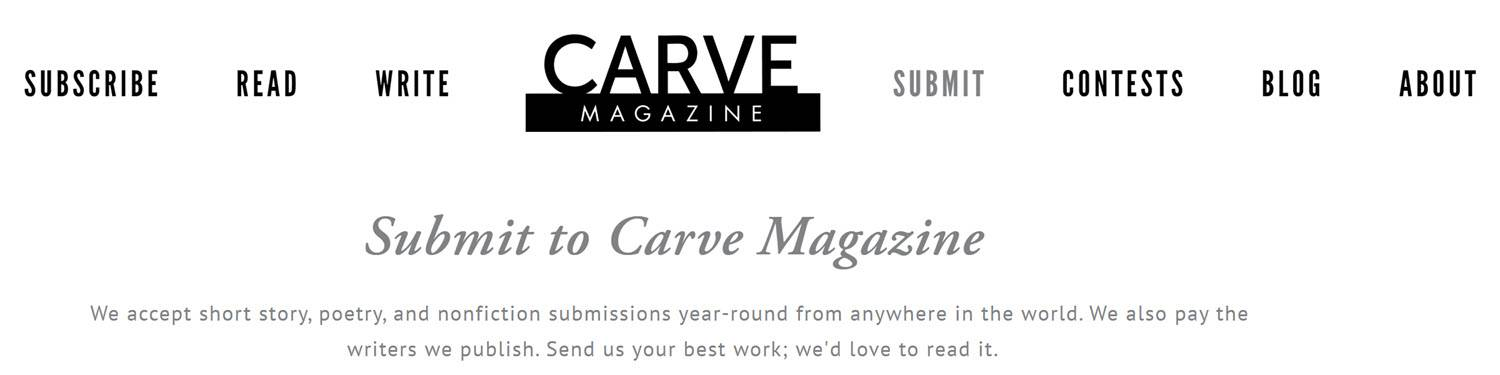 Carve - Best Online Content Writing Jobs From Home
