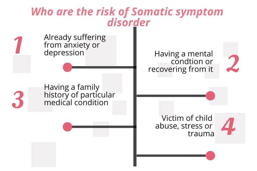 people at the risk of somatic symptom disorder